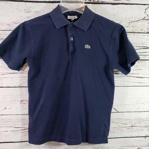 Lacoste Sport Boys Blue Polo Shirt 14(L)